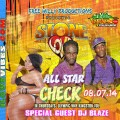 Free Willy Productions Presents DJ Blaze @ All Star Check-In Thursdays Olympic Way Kingston Jamaica Blaze Segment 08-07-14