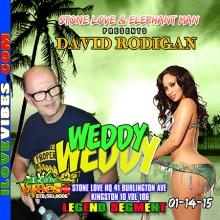 Stone Love Promotions & Elephant Man Presents David Rodigan @ Weddy Weddy Ave 41 Burlington Ave Kingston 10 Legend Segment  Vol 186  David Rodigan