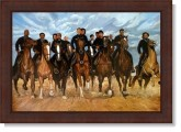 Freedom Riders  Autograph by Kolongi Brathwaite (Artist) Limited Edition Lithograph